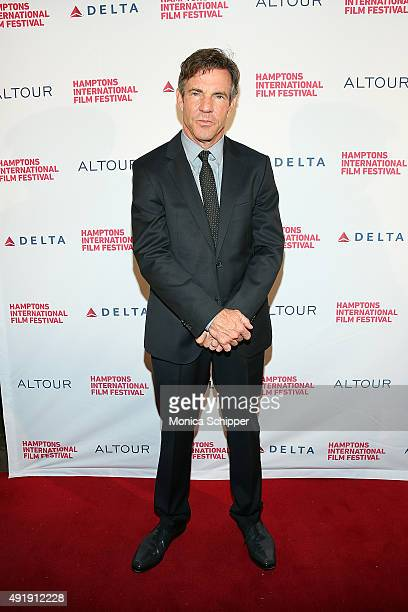 Actor Dennis Quaid attends day 1 of the 23rd Annual Hamptons International Film Festival on October 8 2015 in East Hampton New York