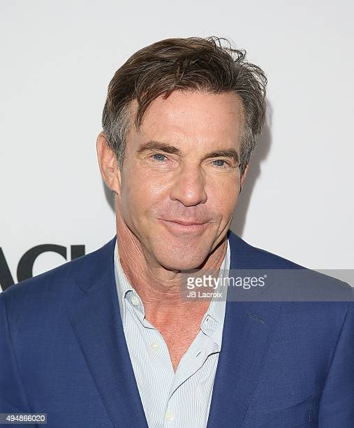 Actor Dennis Quaid attends the premiere of Crackle's 'The Art Of More' at Sony Pictures Studios on October 29 2015 in Culver City California