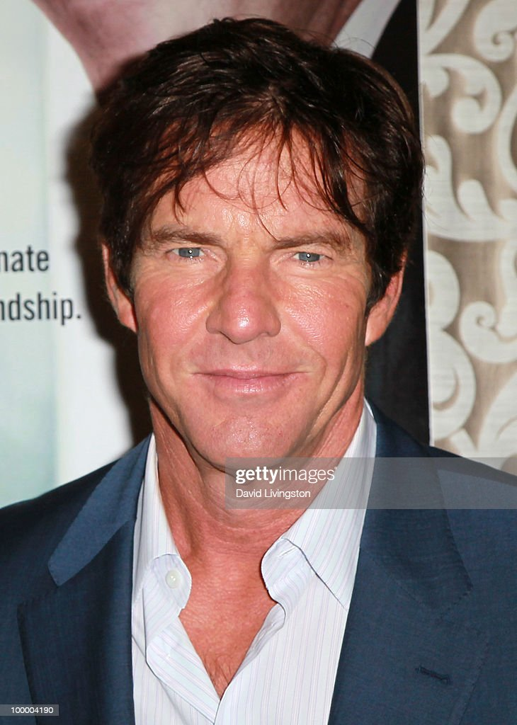 Actor Dennis Quaid attends the premiere of HBO Films 'The Special Relationship' at the Directors Guild of America on May 19, 2010 in Los Angeles, California.