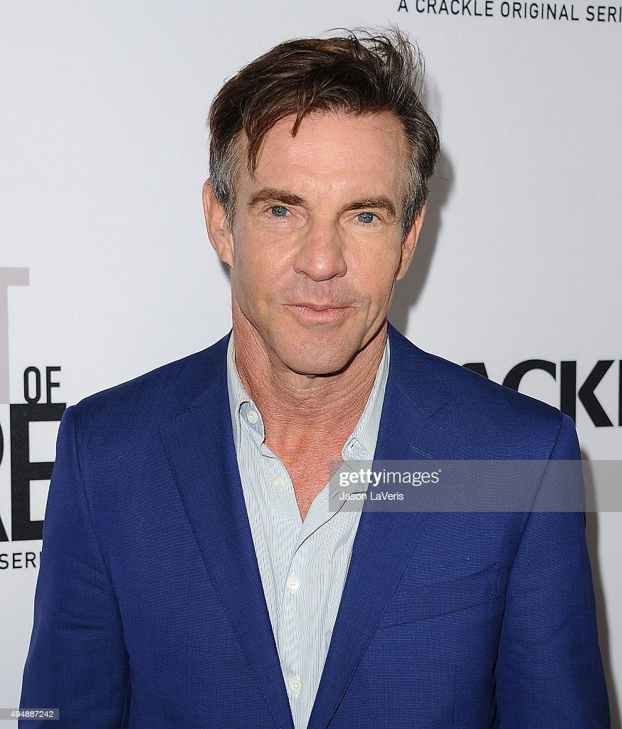 Actor <a gi-track='captionPersonalityLinkClicked' href=/galleries/search?phrase=Dennis+Quaid&family=editorial&specificpeople=201916 ng-click='$event.stopPropagation()'>Dennis Quaid</a> attends the premiere of 'The Art of More' at Sony Pictures Studios on October 29, 2015 in Culver City, California.
