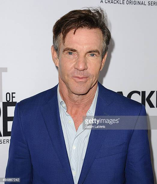 Actor Dennis Quaid attends the premiere of 'The Art of More' at Sony Pictures Studios on October 29 2015 in Culver City California