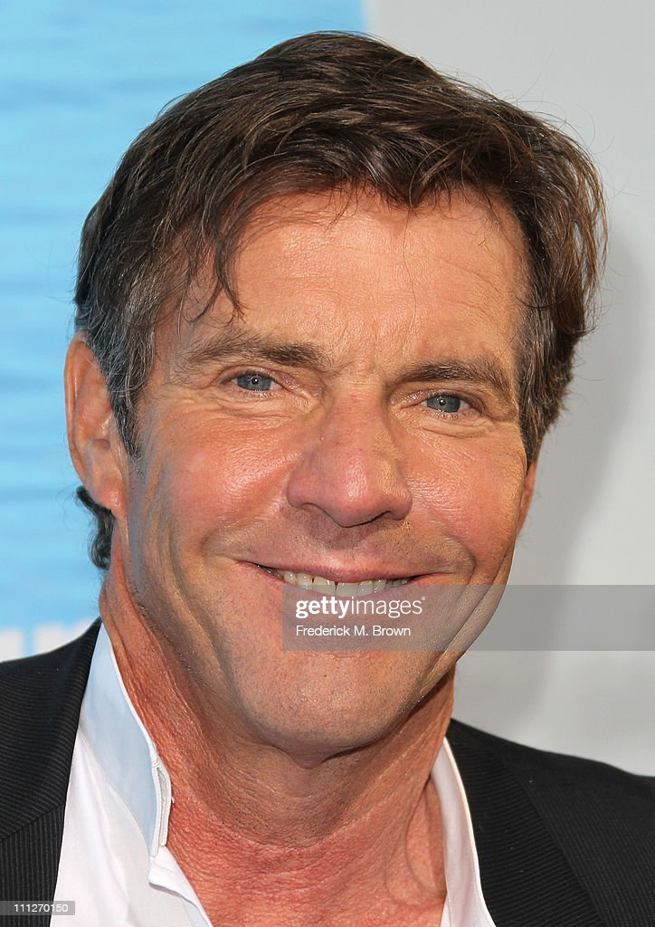 Actor <a gi-track='captionPersonalityLinkClicked' href=/galleries/search?phrase=Dennis+Quaid&family=editorial&specificpeople=201916 ng-click='$event.stopPropagation()'>Dennis Quaid</a> attends the premiere of TriStar Pictures' 'Soul Surfer' at the ArcLight Cinerama Dome on March 30, 2011 in Hollywood, California.