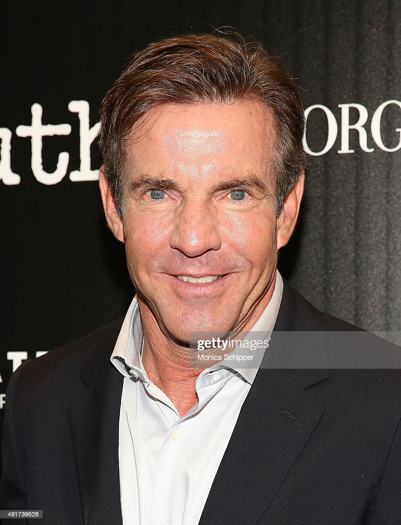 Actor <a gi-track='captionPersonalityLinkClicked' href=/galleries/search?phrase=Dennis+Quaid&family=editorial&specificpeople=201916 ng-click='$event.stopPropagation()'>Dennis Quaid</a> attends the screening of Sony Pictures Classics' 'Truth' hosted by Giorgio Armani and The Cinema Society at Museum of Modern Art on October 7, 2015 in New York City.