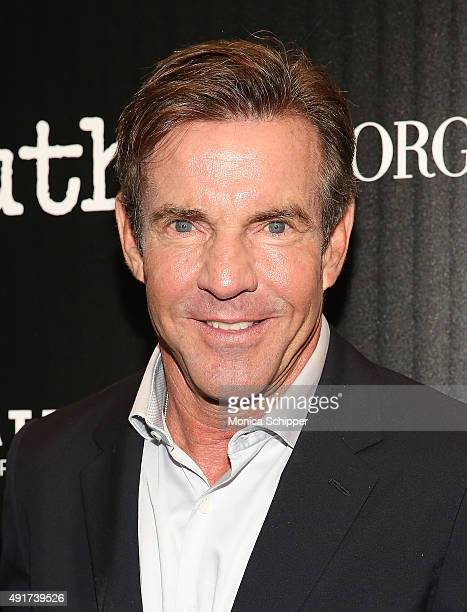 Actor Dennis Quaid attends the screening of Sony Pictures Classics' 'Truth' hosted by Giorgio Armani and The Cinema Society at Museum of Modern Art...
