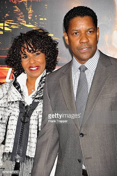 Actor Denzel Washington and wife Pauletta arrive at the premiere of 'Unstoppable' held at the Regency Village Theater in Westwood
