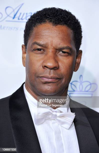 Actor Denzel Washington attends The 2010 Princess Grace Awards Gala at Cipriani 42nd Street on November 10 2010 in New York City