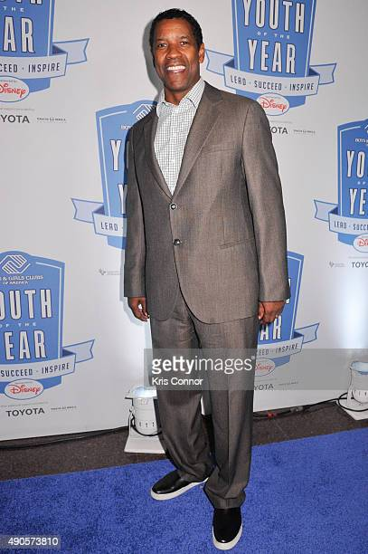 Actor Denzel Washington attends the 2015 Boys and Girls Clubs of America National Youth of the Year celebration at the National Building Museum on...