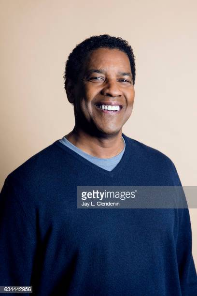 Actor Denzel Washington is photographed for Los Angeles Times on December 17 2016 in Los Angeles California CREDIT MUST READ Jay L Clendenin/Los...