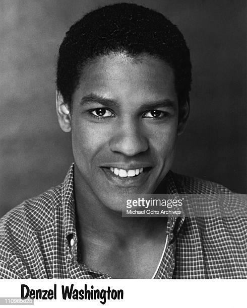 Actor Denzel Washington poses for a publicity headshot circa 1980 in Los Angeles California