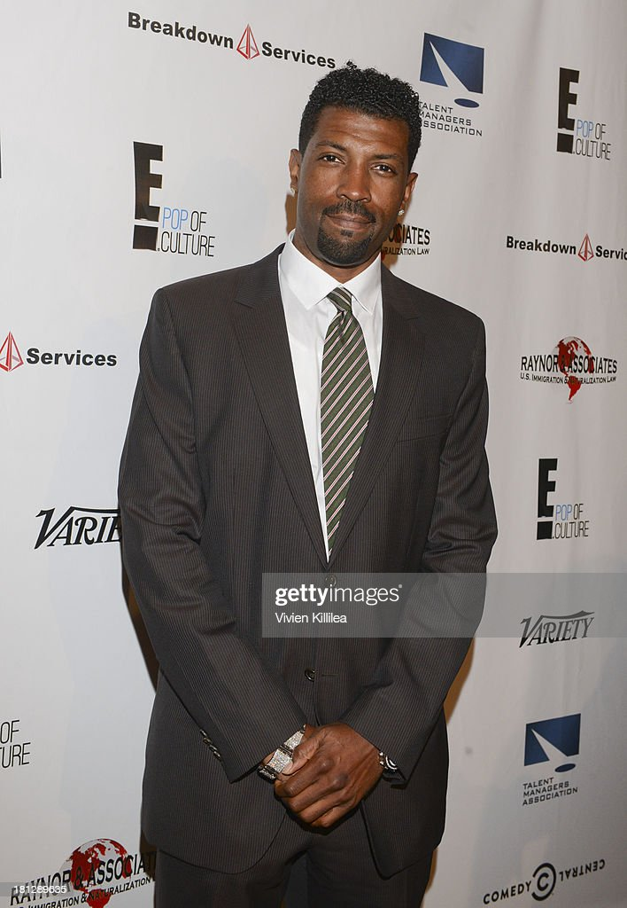Actor <a gi-track='captionPersonalityLinkClicked' href=/galleries/search?phrase=Deon+Cole&family=editorial&specificpeople=5434737 ng-click='$event.stopPropagation()'>Deon Cole</a> attends the 12th Annual Heller Awards at The Beverly Hilton Hotel on September 19, 2013 in Beverly Hills, California.