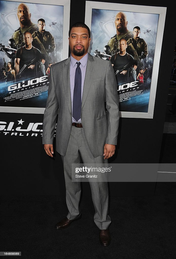 Retaliation' Los Angeles Premiere at TCL Chinese Theatre on March 28, 2013 in Hollywood, California.