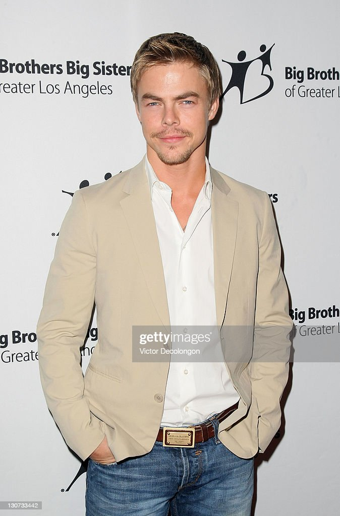 Actor Derek Hough arrives for The Big Brothers Big Sisters Of Greater Los Angeles' '2011 Rising Stars Gala' at The Beverly Hilton hotel on October 28, 2011 in Beverly Hills, California.