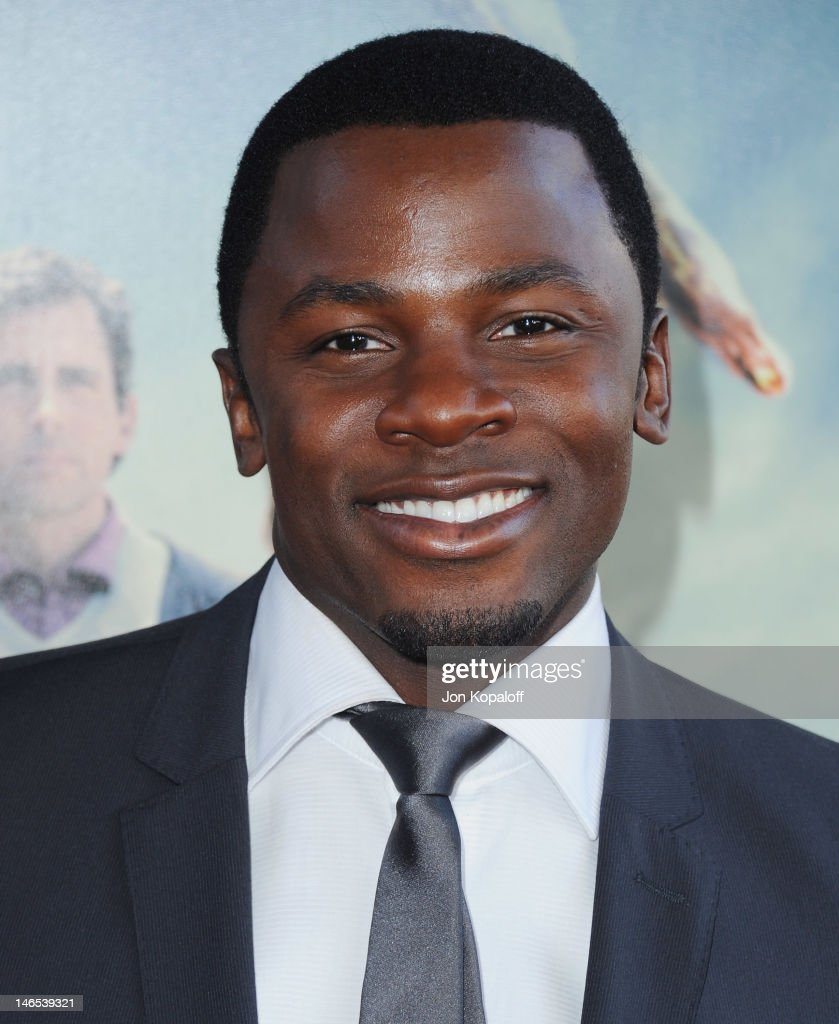Actor <a gi-track='captionPersonalityLinkClicked' href=/galleries/search?phrase=Derek+Luke&family=editorial&specificpeople=244010 ng-click='$event.stopPropagation()'>Derek Luke</a> arrives at the 2012 Los Angeles Film Festival - 'Seeking A Friend For The End Of The World' at Regal Cinemas L.A. Live on June 18, 2012 in Los Angeles, California.