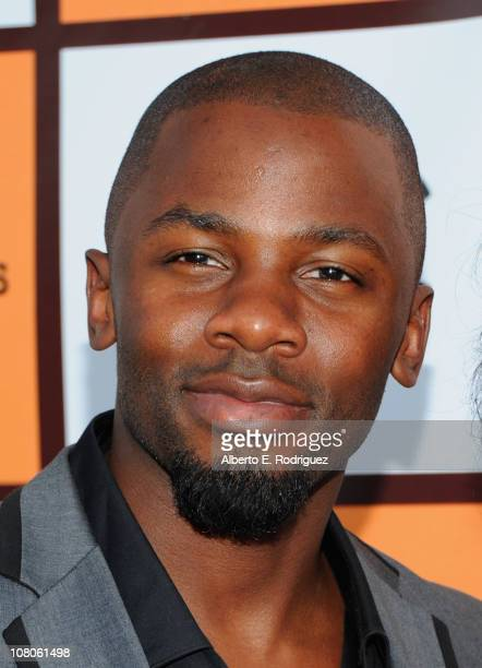 Actor Derek Luke arrives to the 2011 Independent Spirit Awards Filmmaker Grant and Nominee Brunch on January 15 2011 in Los Angeles California