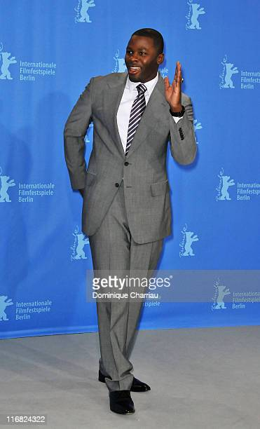Actor Derek Luke attends the 'Notorious' photocall during the 59th Berlin International Film Festival at the Grand Hyatt Hotel on February 11 2009 in...