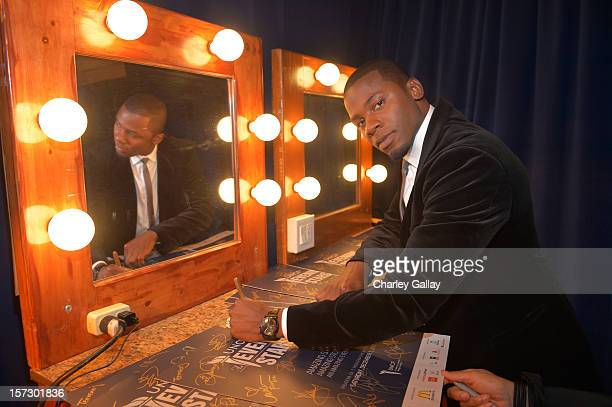 Actor Derek Luke attends UNCF's 34th Annual An Evening Of Stars held at Pasadena Civic Auditorium on December 1 2012 in Pasadena California