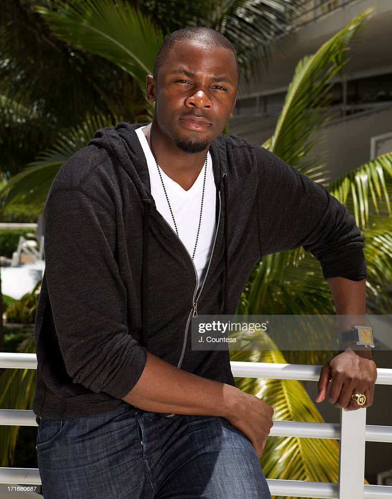 Actor <a gi-track='captionPersonalityLinkClicked' href=/galleries/search?phrase=Derek+Luke&family=editorial&specificpeople=244010 ng-click='$event.stopPropagation()'>Derek Luke</a> poses during the 2013 American Black Film Festival on June 20, 2013 in Miami, Florida.