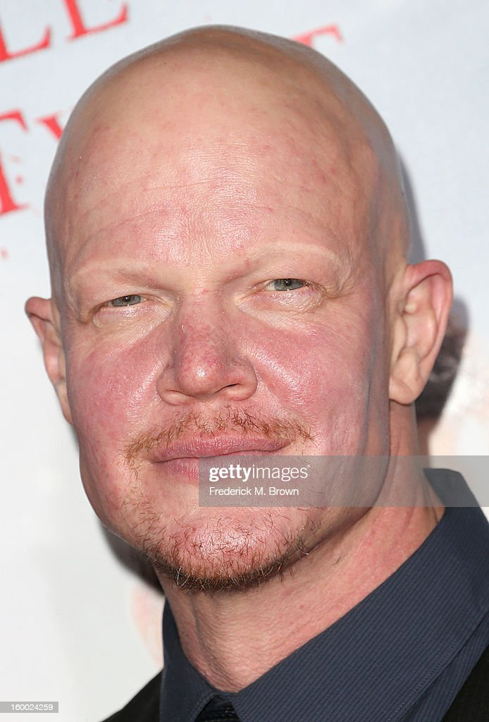 Actor <a gi-track='captionPersonalityLinkClicked' href=/galleries/search?phrase=Derek+Mears&family=editorial&specificpeople=5658397 ng-click='$event.stopPropagation()'>Derek Mears</a> attends the Premiere of Paramount Pictures' 'Hansel And Gretel Witch Hunters' at the TCL Chinese Theatre on January 24, 2013 in Hollywood, California.