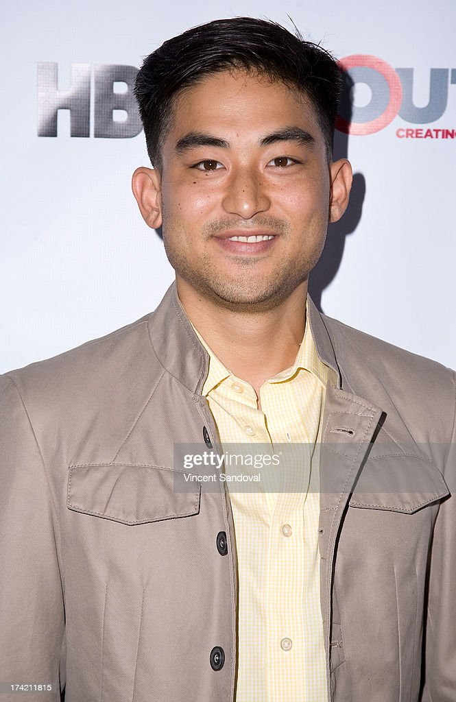 Actor Derek Mio attends the 2013 Outfest Film Festival closing night gala of 'G.B.F.' at Ford Theatre on July 21, 2013 in Hollywood, California.