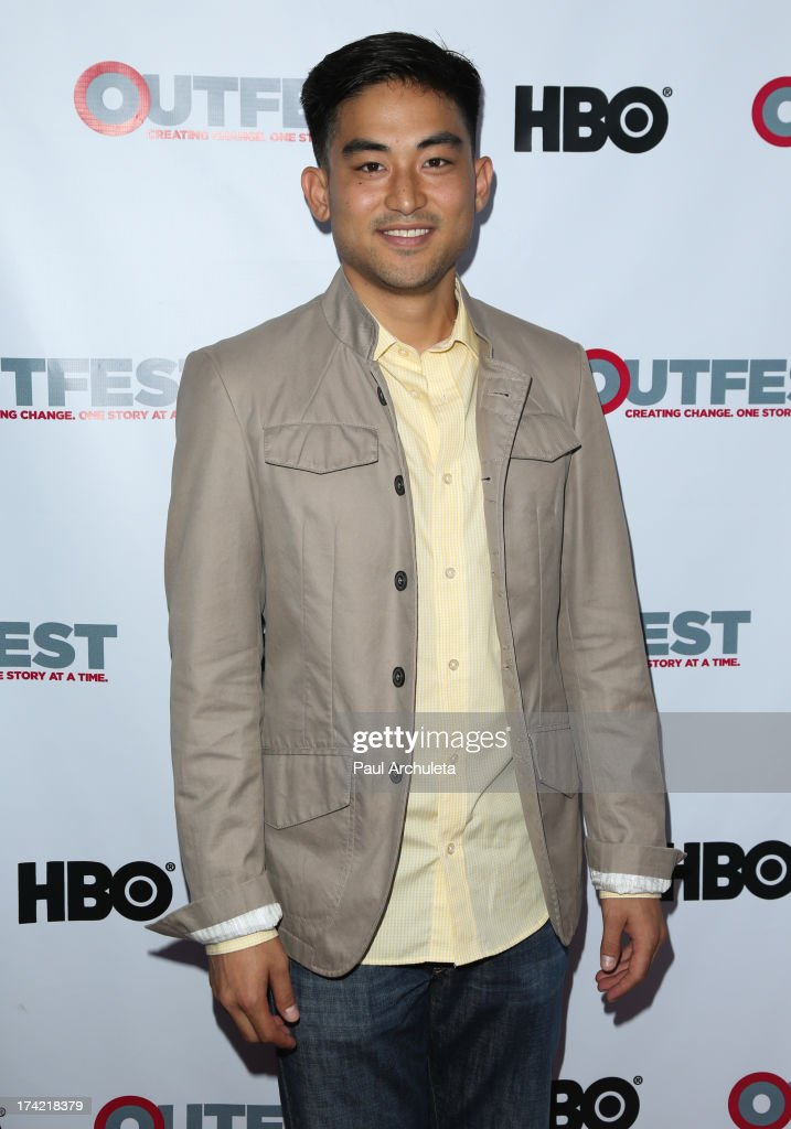 Actor Derek Mio attends the screening of 'G.B.F.' at the 2013 Outfest film festival closing night gala at the Ford Theatre on July 21, 2013 in Hollywood, California.