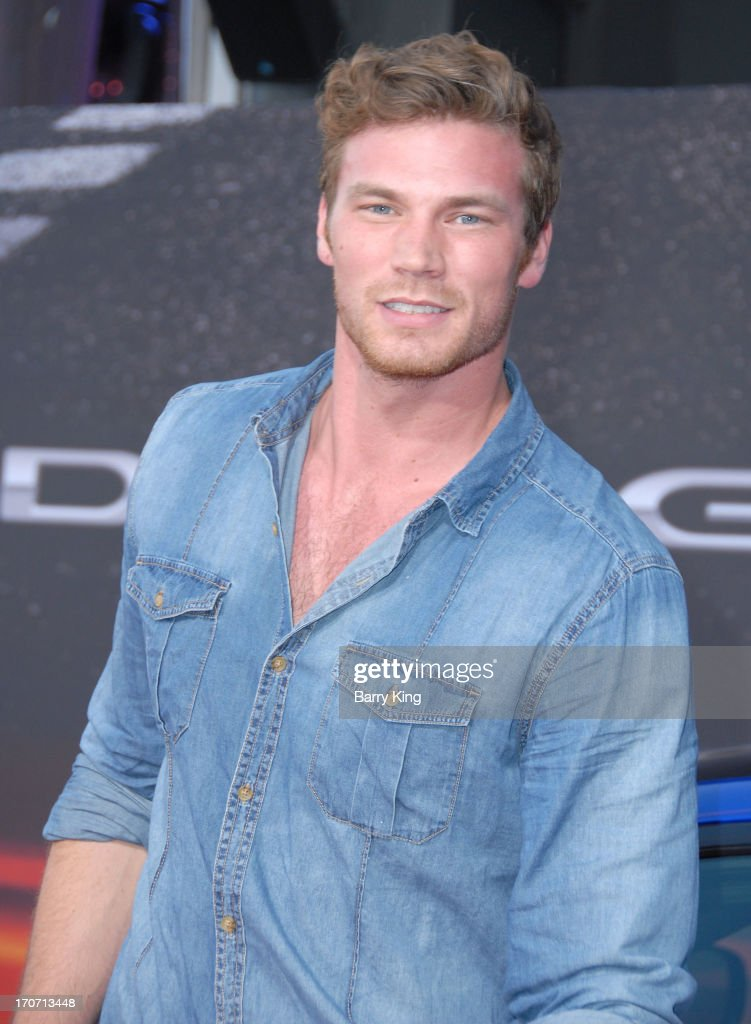 Actor Derek Theler attends the premiere of 'Fast & Furious 6' at Universal CityWalk on May 21, 2013 in Universal City, California.