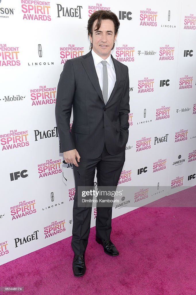 Actor Dermot Mulroney arrives with Jameson prior to the 2013 Film Independent Spirit Awards at Santa Monica Beach on February 23, 2013 in Santa Monica, California.