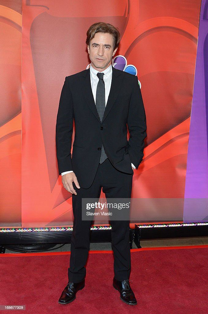 Actor Dermot Mulroney attends 2013 NBC Upfront Presentation Red Carpet Event at Radio City Music Hall on May 13, 2013 in New York City.