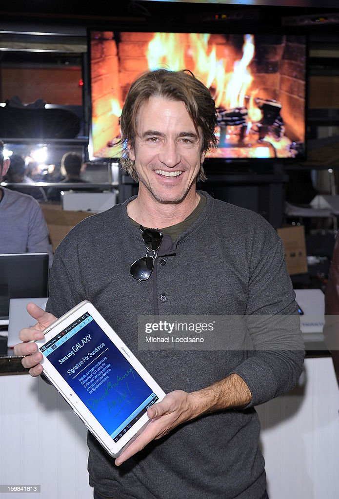 Actor Dermot Mulroney attends Day 4 of Samsung at Village At The Lift 2013 on January 21, 2013 in Park City, Utah.