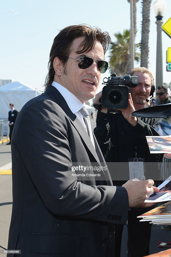 Actor Dermot Mulroney attends the 2013 Film Independent Spirit Awards at Santa Monica Beach on February 23, 2013 in Santa Monica, California.