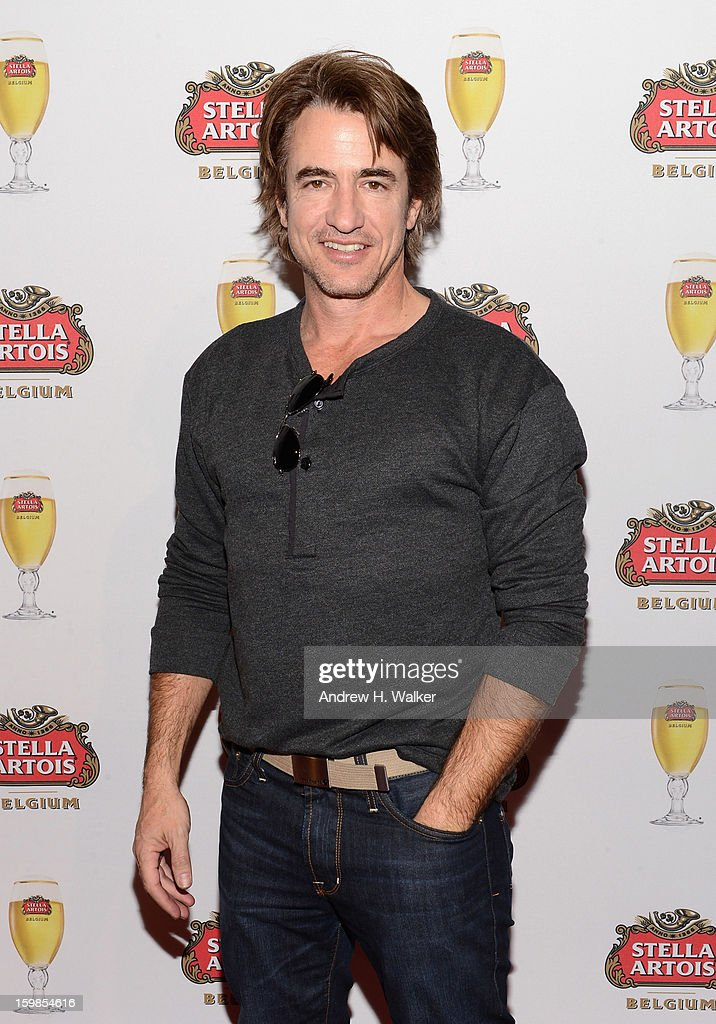 Actor <a gi-track='captionPersonalityLinkClicked' href=/galleries/search?phrase=Dermot+Mulroney&family=editorial&specificpeople=208776 ng-click='$event.stopPropagation()'>Dermot Mulroney</a> attends the Stella Artois press junket for 'The Ramblers' at Village at the Lift on January 21, 2013 in Park City, Utah.