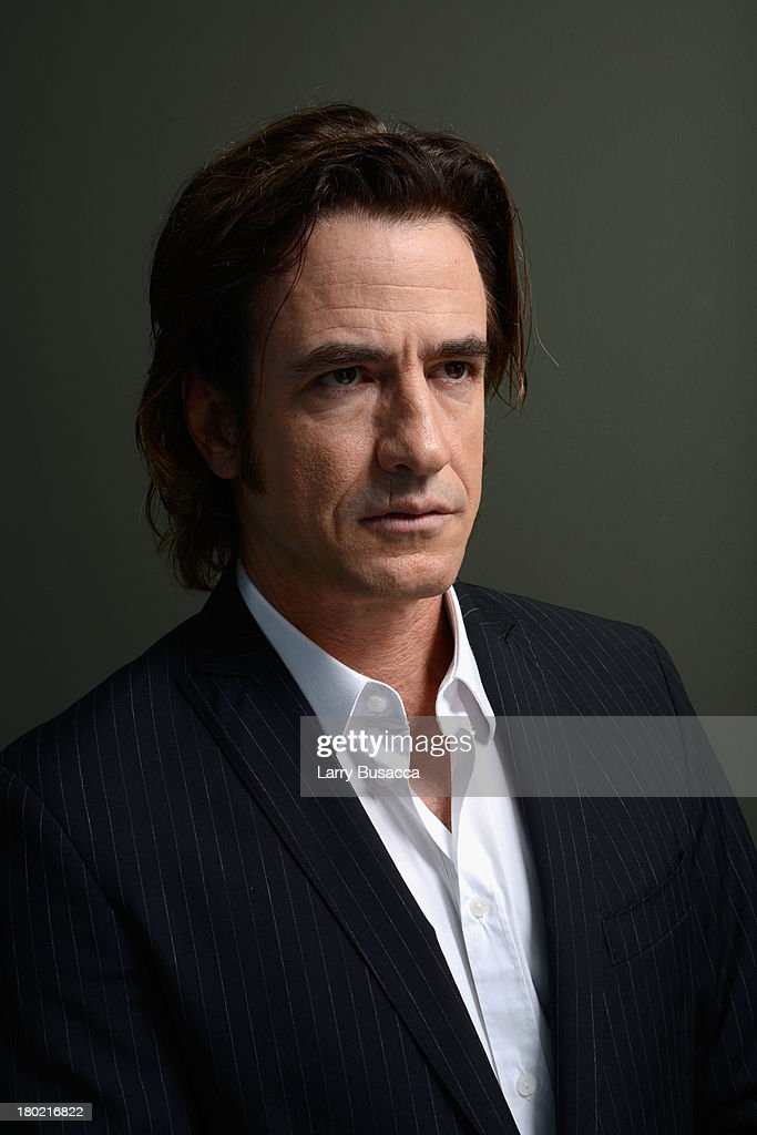 Actor <a gi-track='captionPersonalityLinkClicked' href=/galleries/search?phrase=Dermot+Mulroney&family=editorial&specificpeople=208776 ng-click='$event.stopPropagation()'>Dermot Mulroney</a> of 'August: Osage County' poses at the Guess Portrait Studio during 2013 Toronto International Film Festival on September 10, 2013 in Toronto, Canada.