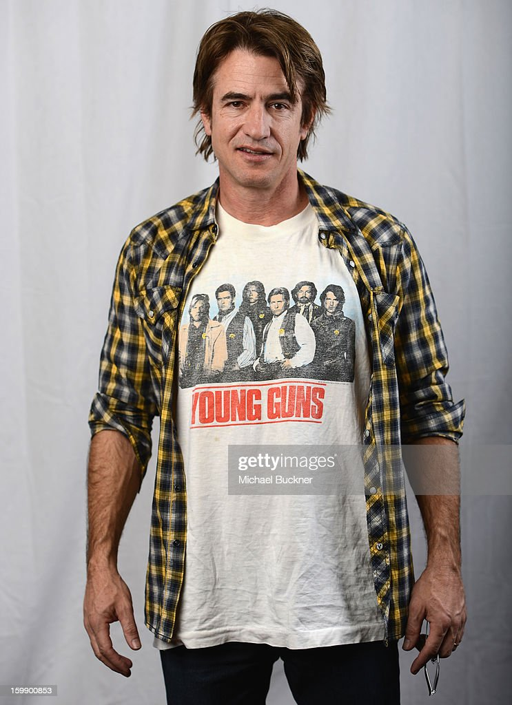 Actor Dermot Mulroney poses for a portrait at the Photo Studio for MSN Wonderwall at ChefDance on January 22, 2013 in Park City, Utah.