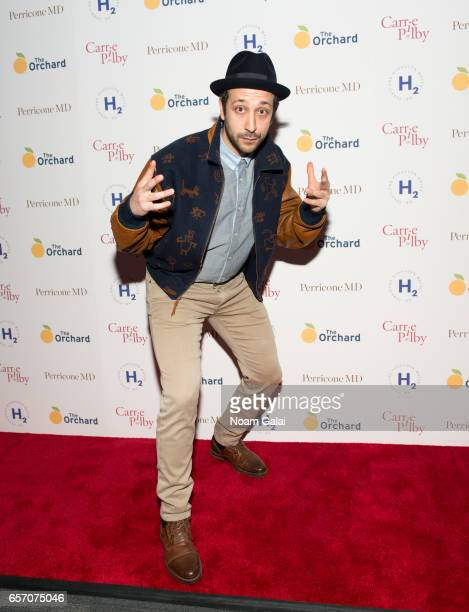 Actor Desmin Borges attends the 'Carrie Pilby' New York screening at Landmark Sunshine Cinema on March 23 2017 in New York City