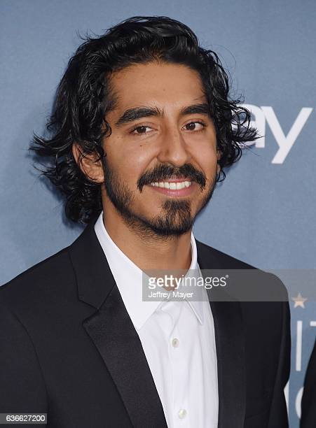 Actor Dev Patel arrives at The 22nd Annual Critics' Choice Awards at Barker Hangar on December 11 2016 in Santa Monica California