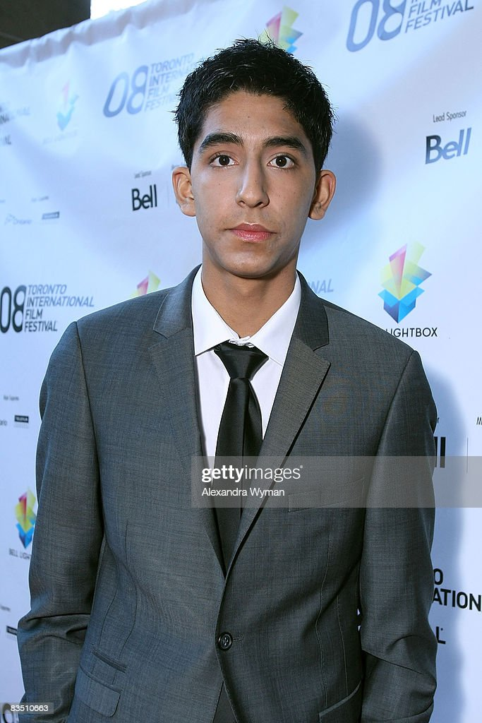 Actor Dev Patel arrives at the premiere of 'Slumdog Millionaire' held at Flow Resturant during the 2008 Toronto International Film Festival on Septmeber 7, 2008 in Toronto, Canada.