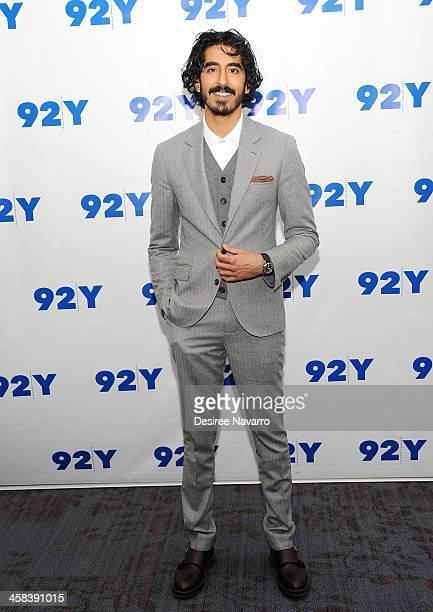 Actor Dev Patel attends 92YTalks at Kaufman Concert Hall on November 21 2016 in New York City
