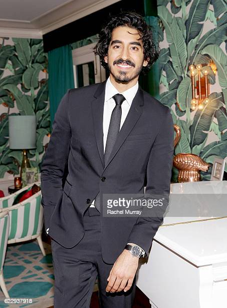 Actor Dev Patel attends as The Weinstein Company celebrates the cast and filmmakers of 'Sing Street' 'Lion' 'The Founder' and 'Gold' at the private...