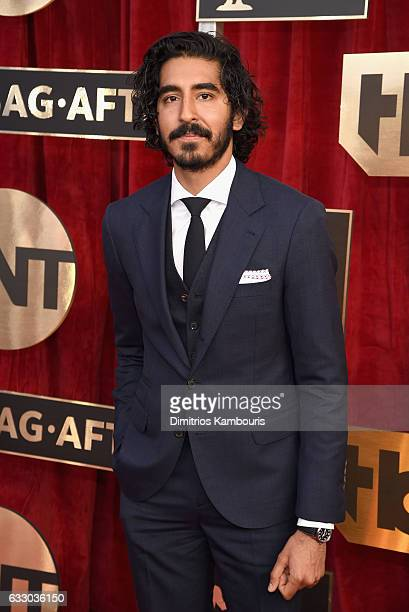 Actor Dev Patel attends The 23rd Annual Screen Actors Guild Awards at The Shrine Auditorium on January 29 2017 in Los Angeles California 26592_009