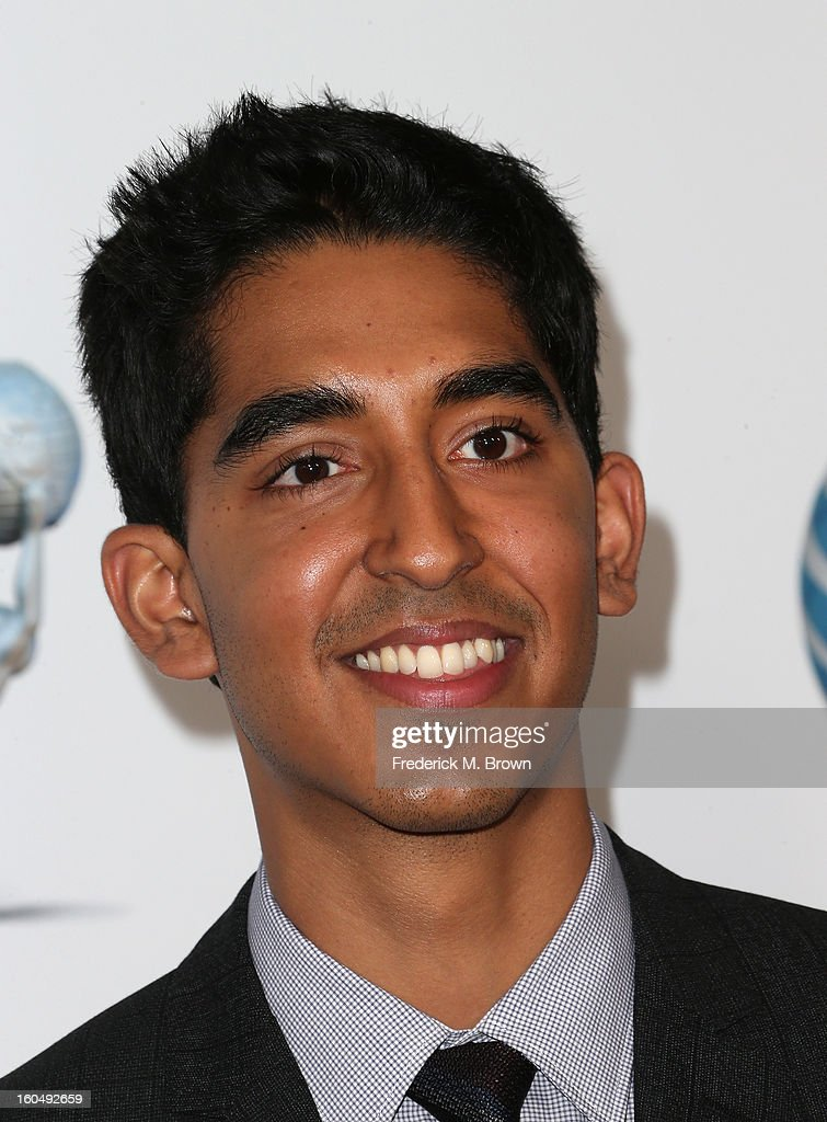 Actor Dev Patel attends the 44th NAACP Image Awards at The Shrine Auditorium on February 1, 2013 in Los Angeles, California.