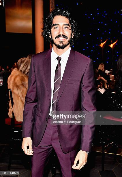 Actor Dev Patel attends the 6th Annual AACTA International Awards at Avalon Hollywood on January 6 2017 in Los Angeles California