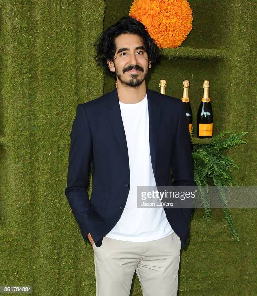 Actor Dev Patel attends the 8th annual Veuve Clicquot Polo Classic at Will Rogers State Historic Park on October 14 2017 in Pacific Palisades...
