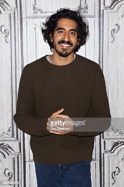 Actor Dev Patel attends the Build series to discuss 'Lion' at AOL HQ on January 4 2017 in New York City