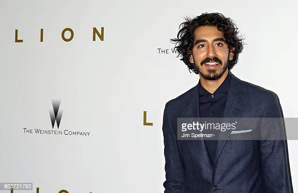 Actor Dev Patel attends the 'Lion' New York premiere at Museum of Modern Art on November 16 2016 in New York City
