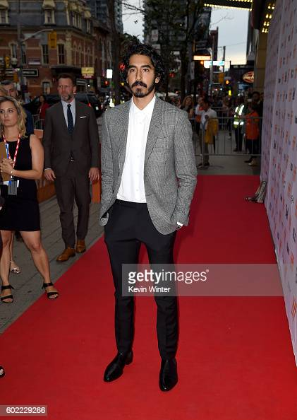 Actor Dev Patel attends the 'Lion' premiere during the 2016 Toronto International Film Festival at Princess of Wales Theatre on September 10 2016 in...