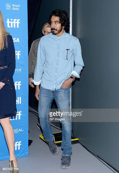 Actor Dev Patel attends the 'Lion' Press Conference during 2016 Toronto International Film Festival at TIFF Bell Lightbox on September 11 2016 in...