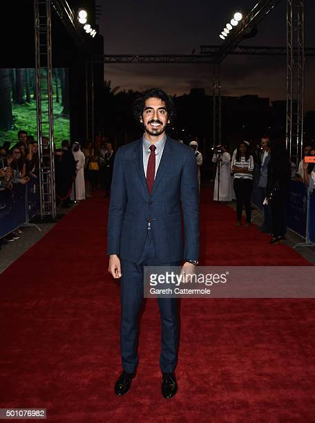 Actor Dev Patel attends 'The Man Who Knew Infinity' premiere during day four of the 12th annual Dubai International Film Festival held at the Madinat...