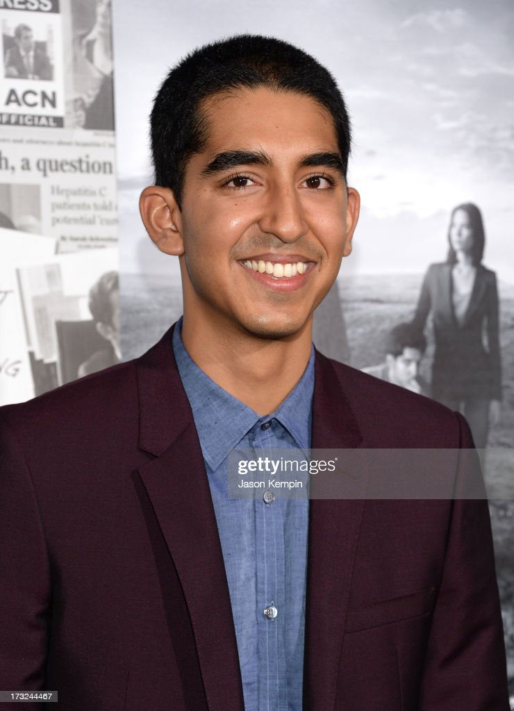 Actor <a gi-track='captionPersonalityLinkClicked' href=/galleries/search?phrase=Dev+Patel&family=editorial&specificpeople=5123545 ng-click='$event.stopPropagation()'>Dev Patel</a> attends the premiere of HBO's 'The Newsroom' Season 2 at Paramount Theater on the Paramount Studios lot on July 10, 2013 in Hollywood, California.