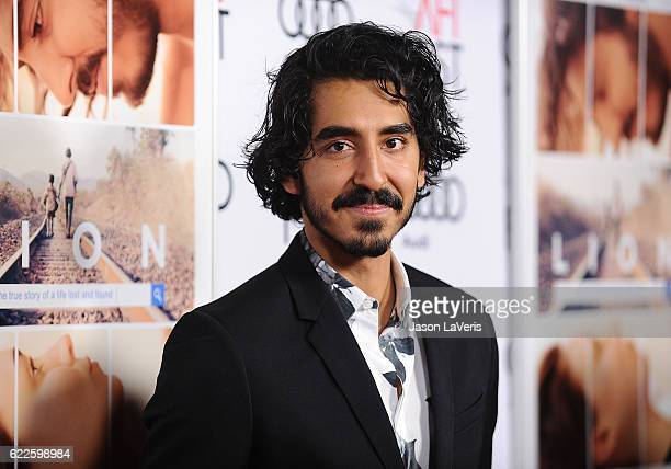 Actor Dev Patel attends the premiere of 'Lion' at the 2016 AFI Fest at TCL Chinese 6 Theatres on November 11 2016 in Hollywood California