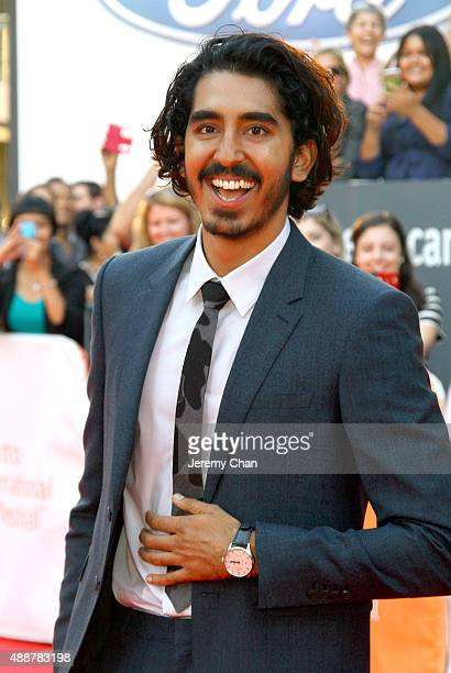 Actor Dev Patel attends the 'The Man Who Knew Infinity' premiere during the 2015 Toronto International Film Festival at Roy Thomson Hall on September...