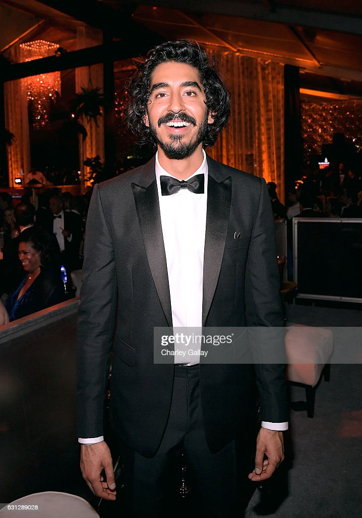 Actor Dev Patel attends The Weinstein Company and Netflix Golden Globes Party presented with Landmark Vineyards at The Beverly Hilton Hotel on January 8, 2017 in Beverly Hills, California.